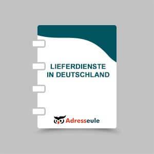 Lieferdienste in Deutschland