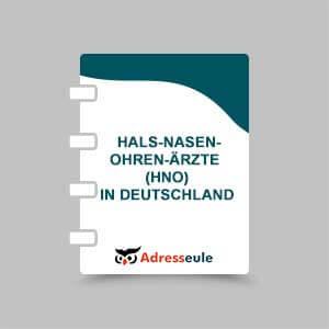 Hals-Nasen-Ohren-Ärzte (HNO) in Deutschland